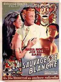 Poster La Sauvagesse Blanche 79316