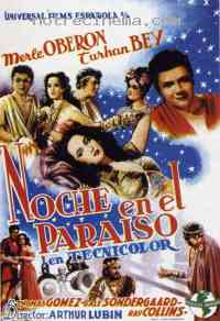 Poster A Night in Paradise 79615