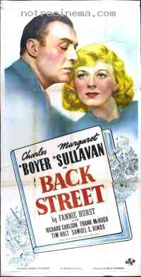 Poster Back Street 80790