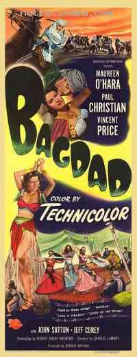Poster Bagdad 83203