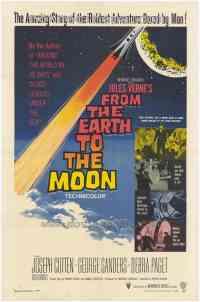 affiche  De la Terre � la Lune 89114