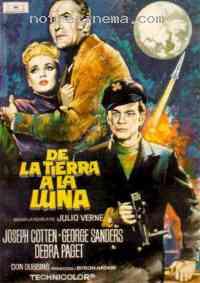 Poster De la Terre � la Lune 89116