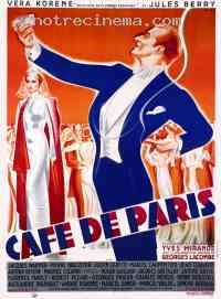 Poster Café de Paris 89571