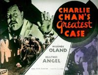 wallpapers Charlie Chan's Greatest Case