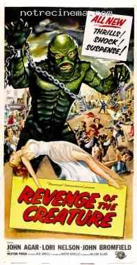 Poster La Revanche de la créature 90100