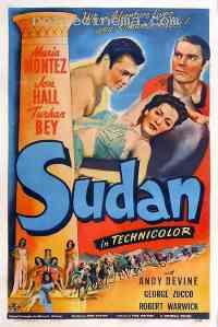 affiche  Soudan 90653