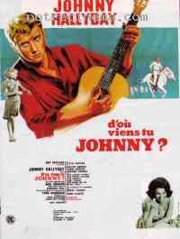 Poster D'où viens-tu Johnny ? 92283