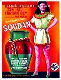 affiche  Soudan 92475