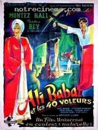 affiche  Ali Baba et les 40 Voleurs 92476