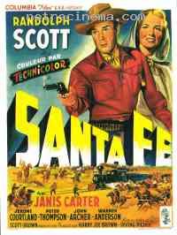 Poster Santa Fe 92937