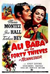 affiche  Ali Baba et les 40 Voleurs 92980