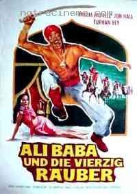 affiche  Ali Baba et les 40 Voleurs 92984