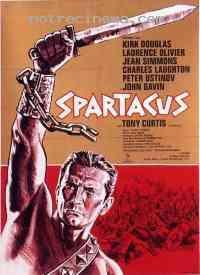 affiche  Spartacus 94258
