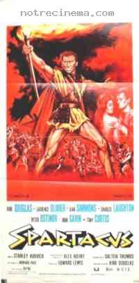 affiche  Spartacus 94262