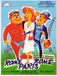 Poster Rome-Paris-Rome 95139