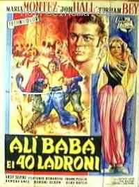 Poster Ali Baba et les 40 Voleurs 98456