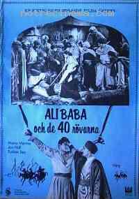 affiche  Ali Baba et les 40 Voleurs 98459