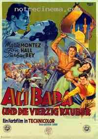 affiche  Ali Baba et les 40 Voleurs 98462