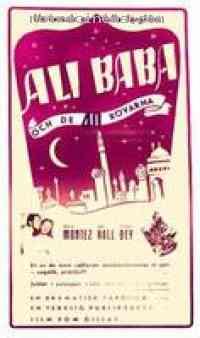affiche  Ali Baba et les 40 Voleurs 98464