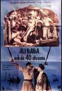 affiche  Ali Baba et les 40 Voleurs 98466