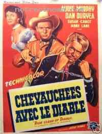 Poster Chevauchées avec le diable 98793
