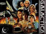 wallpapers Galactica - La Bataille de l'Espace