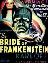 affiche  La Fianc�e de Frankenstein 12828