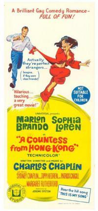 affiche  La Comtesse de Hong-Kong 7778