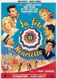 affiche  La Fête à Henriette 11361