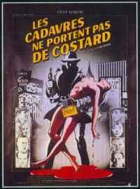 Poster Les Cadavres ne portent pas de costard 7448
